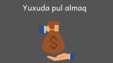 Photo of Yuxuda pul almaq ✅