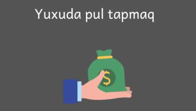 Photo of Yuxuda pul tapmaq ✅