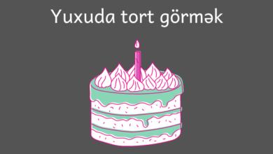 Photo of Yuxuda tort görmək
