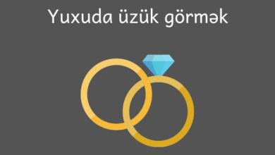 Photo of Yuxuda üzük görmək