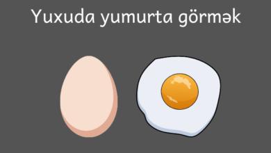 Photo of Yuxuda yumurta görmək