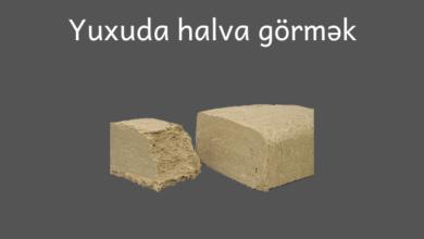 Photo of Yuxuda halva görmək