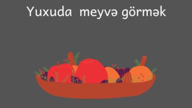 Photo of Yuxuda meyvə görmək ✅