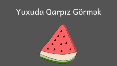 Photo of Yuxuda Qarpız Görmək ✅