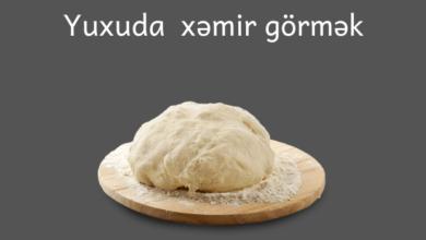 Photo of Yuxuda xəmir görmək