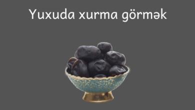 Photo of Yuxuda xurma görmək ✅