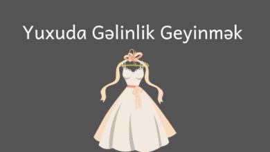 Photo of Yuxuda Gelinlik Geyinmek Nədir? ✅