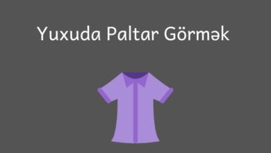 Photo of Yuxuda Paltar Gormek Nədir? 👕