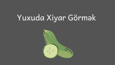 Photo of Yuxuda xiyar gormek 🥒
