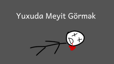 Photo of Yuxuda meyit gormek