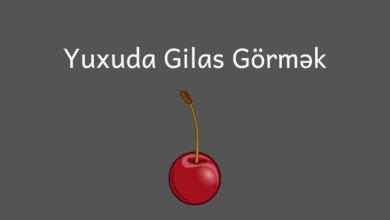 Photo of Yuxuda gilas gormek