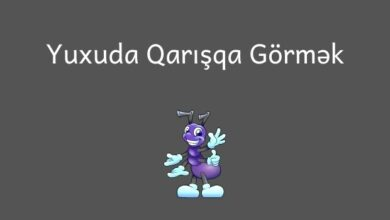 Photo of Yuxuda qarisqa gormek nedir ?